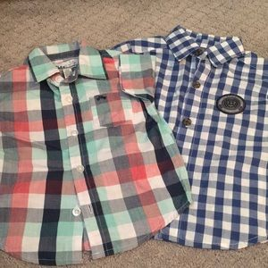 Kenneth Cole Short sleeve button down
